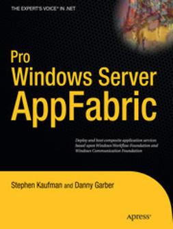 Kaufman, Stephen - Pro Windows Server AppFabric, ebook