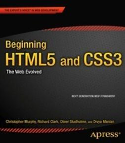 Clark, Richard - Beginning HTML5 and CSS3, e-bok