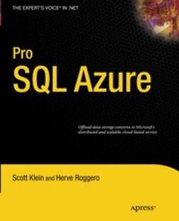 Klein, Scott - Pro Sql Azure, ebook
