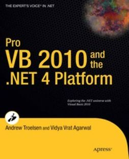 Agarwal, Vidya Vrat - Pro VB 2010 and the .NET 4 Platform, e-kirja