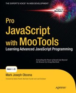 Obcena, Mark Joseph - Pro JavaScript with MooTools, ebook