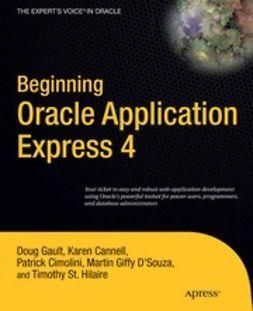 Gault, Doug - Beginning Oracle Application Express 4, ebook