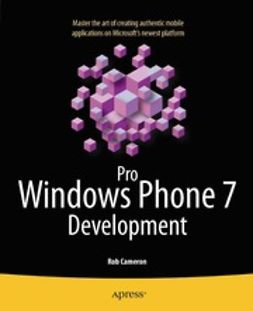 Cameron, Rob - Pro Windows Phone 7 Development, e-bok
