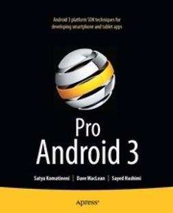 Komatineni, Satya - Pro Android 3, ebook
