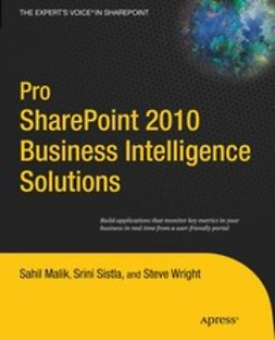 Malik, Sahil - Pro SharePoint 2010 Business Intelligence Solutions, ebook