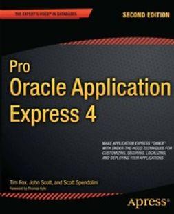 Fox, Tim - Pro Oracle Application Express 4, e-kirja