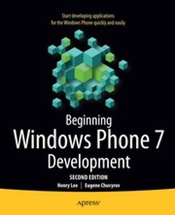 Lee, Henry - Beginning Windows Phone 7 Development, ebook