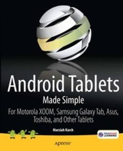 Karch, Marziah - Android Tablets Made Simple, e-bok