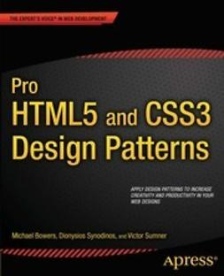Bowers, Michael - Pro HTML5 and CSS3 Design Patterns, ebook