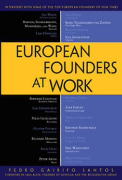 Santos, Pedro Gairifo - European Founders at Work, ebook
