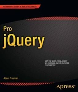 Freeman, Adam - Pro jQuery, ebook