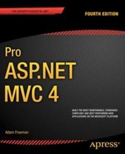 Freeman, Adam - Pro ASP.NET MVC 4, ebook