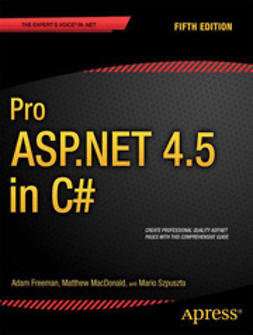 Freeman, Adam - Pro ASP.NET 4.5 in C#, e-bok