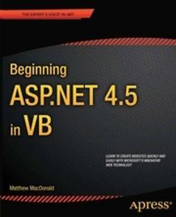 MacDonald, Matthew - Beginning ASP.NET 4.5 in VB, ebook