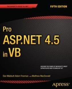 Mabbutt, Dan - Pro ASP.NET 4.5 in VB, ebook