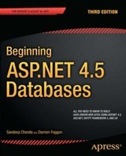 Chanda, Sandeep - Beginning ASP.NET 4.5 Databases, ebook