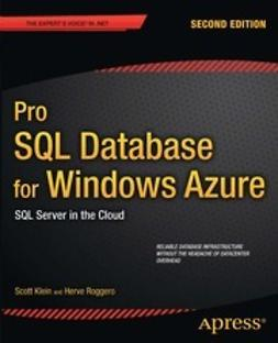 Klein, Scott - Pro SQL Database for Windows Azure, ebook