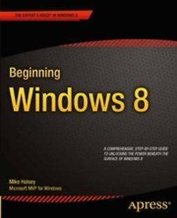 Halsey, Mike - Beginning Windows 8, ebook