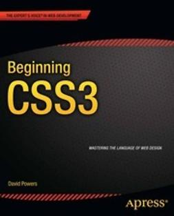 Powers, David - Beginning CSS3, ebook