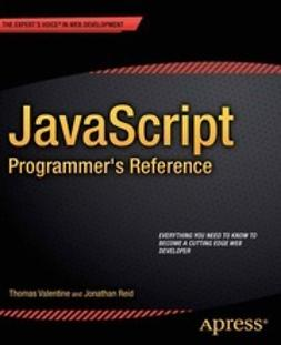 Reid, Jonathan - JavaScript Programmer's Reference, ebook
