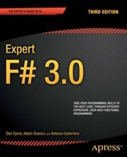 Syme, Don - Expert F# 3.0, ebook