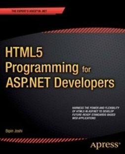 Joshi, Bipin - HTML5 Programming for ASP.NET Developers, ebook