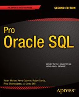 Morton, Karen - Pro Oracle SQL, ebook