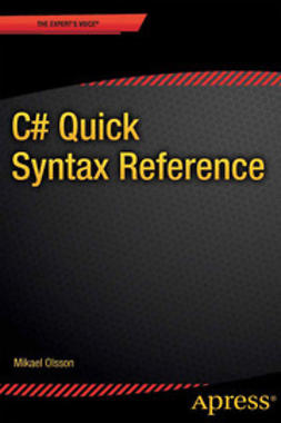 Olsson, Mikael - C# Quick Syntax Reference, ebook