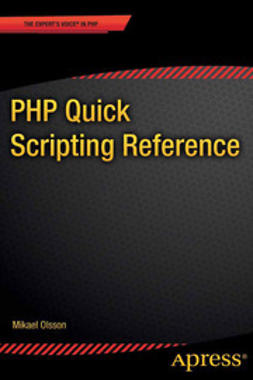 Olsson, Mikael - PHP Quick Scripting Reference, ebook