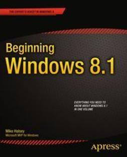 Halsey, Mike - Beginning Windows 8.1, ebook