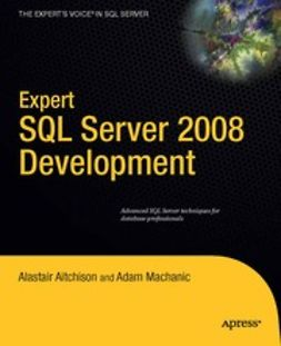 Aitchison, Alastair - Expert SQL Server 2008 Development, ebook