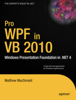 MacDonald, Matthew - Pro WPF in VB 2010, ebook