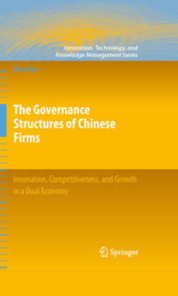 Liao, Chun - The Governance Structures of Chinese Firms, ebook