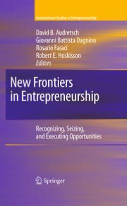 Audretsch, David B. - New Frontiers in Entrepreneurship, ebook