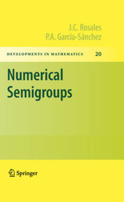 Rosales, J.C. - Numerical Semigroups, ebook