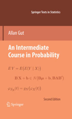 Gut, Allan - An Intermediate Course in Probability, ebook