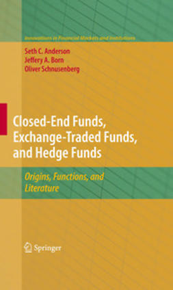 Anderson, Seth - Closed-End Funds, Exchange-Traded Funds, and Hedge Funds, ebook