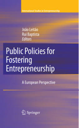 Baptista, Rui - Public Policies for Fostering Entrepreneurship, ebook