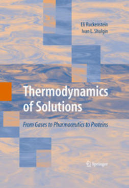 Shulgin, Ivan L. - Thermodynamics of Solutions, ebook