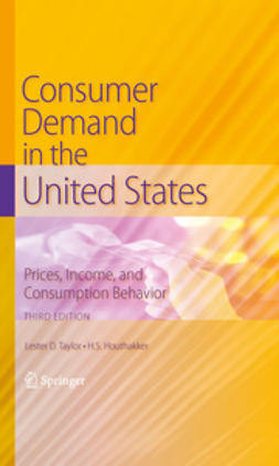 Taylor, Lester D. - Consumer Demand in the United States, ebook