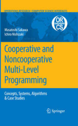 Nishizaki, Ichiro - Cooperative and Noncooperative Multi-Level Programming, ebook