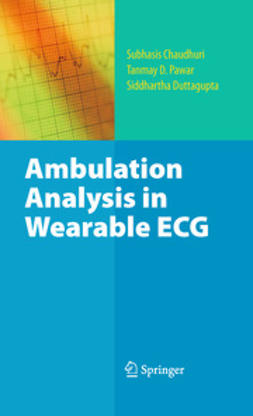 Chaudhuri, Subhasis - Ambulation Analysis in Wearable ECG, ebook