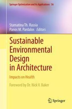 Rassia, Stamatina Th. - Sustainable Environmental Design in Architecture, e-bok