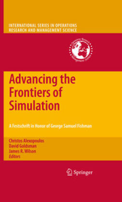 Alexopoulos, Christos - Advancing the Frontiers of Simulation, ebook