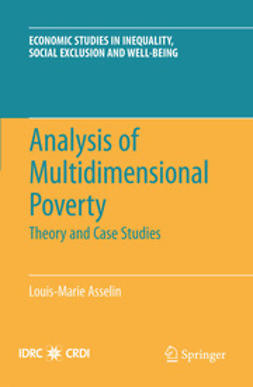 Asselin, Louis-Marie - Analysis of Multidimensional Poverty, ebook
