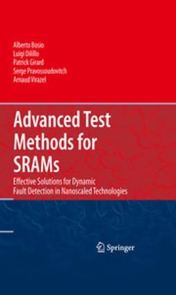 Bosio, Alberto - Advanced Test Methods for SRAMs, e-bok