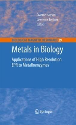 Hanson, Graeme - Metals in Biology, ebook