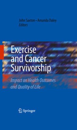 Saxton, John - Exercise and Cancer Survivorship, e-bok