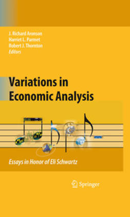 Aronson, J. Richard - Variations in Economic Analysis, ebook