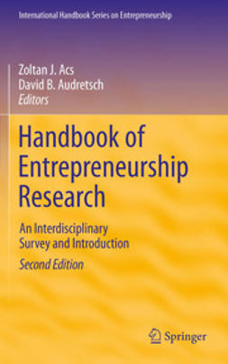 Acs, Zoltan J. - Handbook of Entrepreneurship Research, ebook